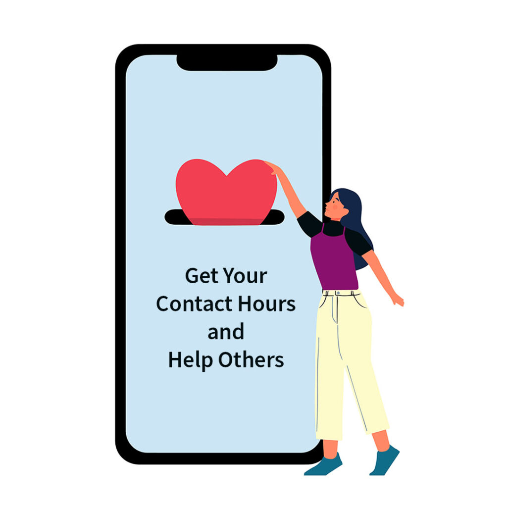 Get Your Contact Hours and Help Others