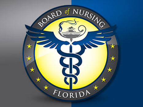 Board of Nursing Florida Logo
